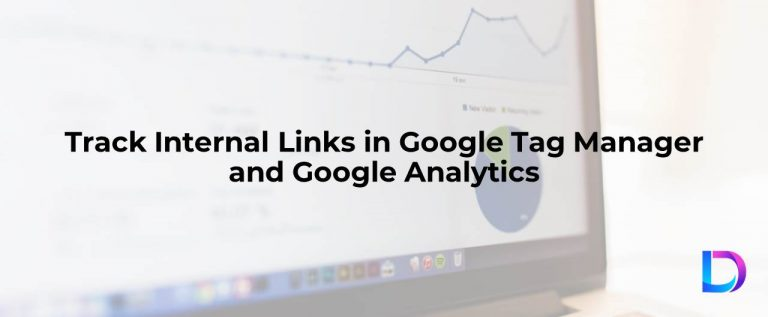 google analytics track internal links