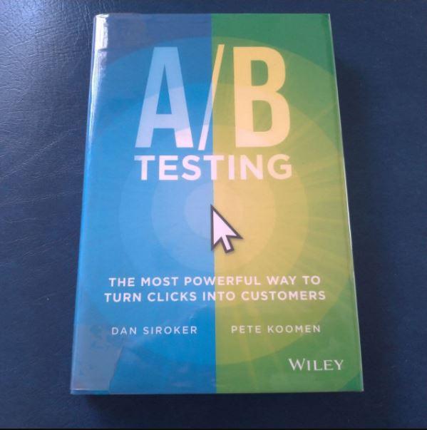 cro book a/b testing