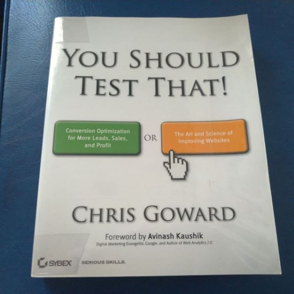 cro book you should test that