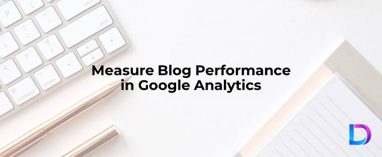 blog performance in google analytics