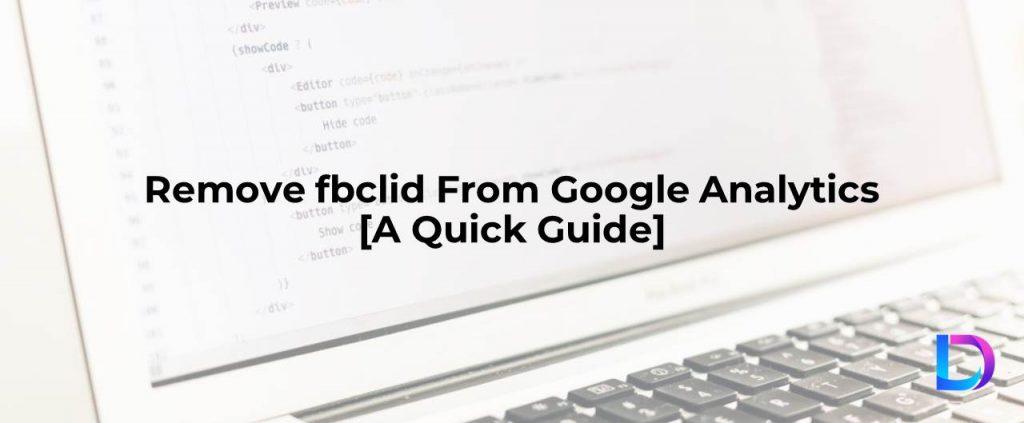 google analytics fbclid