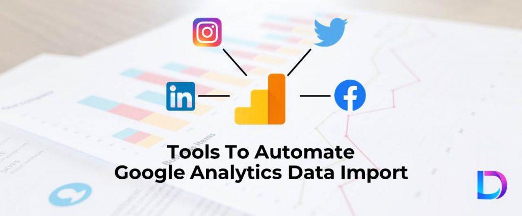 google analytics data import