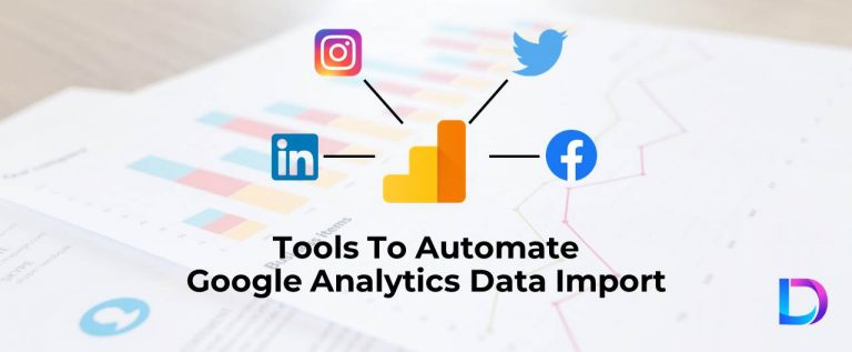 automate google analytics data import