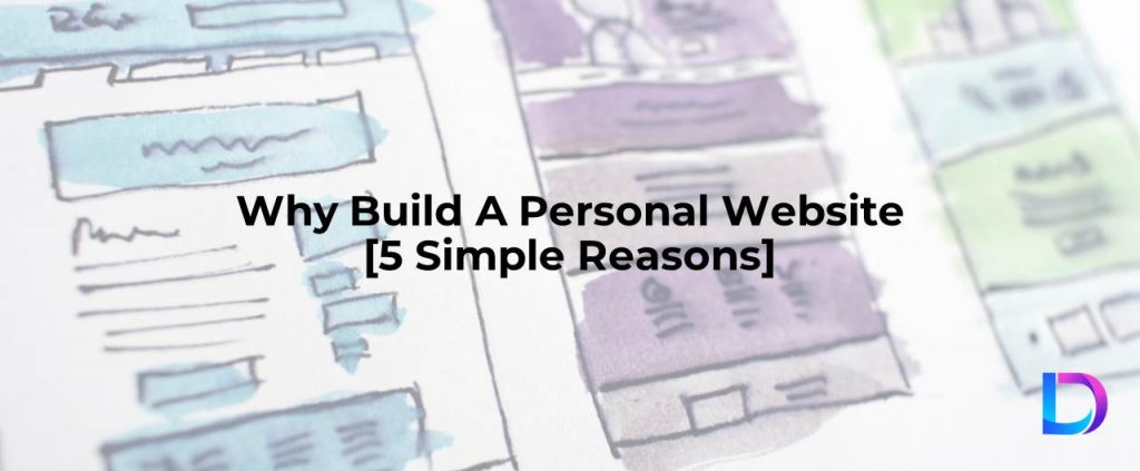 why build a personal website