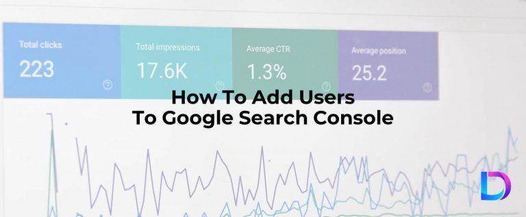 add user google search console