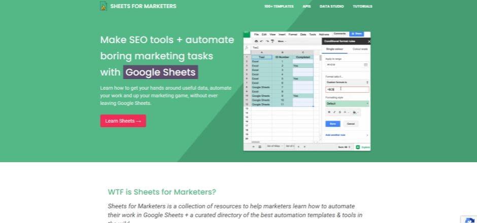 technical marketing sheets