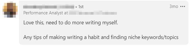blog write linkedin