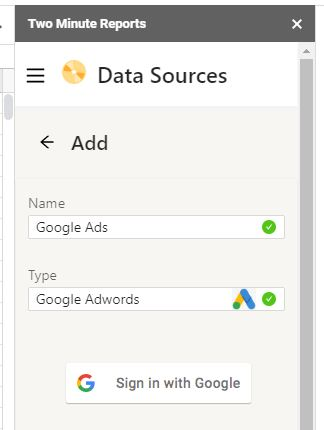 google ads to sheets3