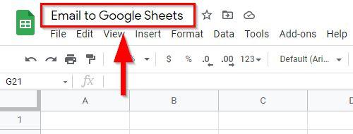 gmail to sheets integromat 9